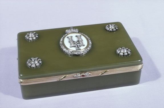 Box with Monogram of Nicholas II