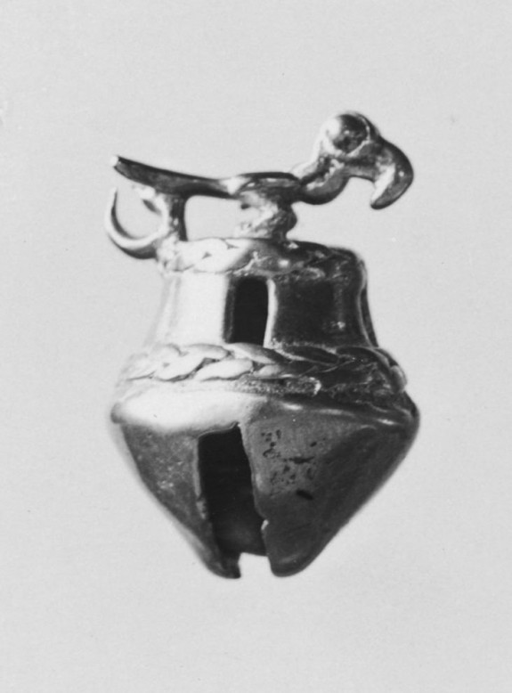 Bell Pendant with Toucan