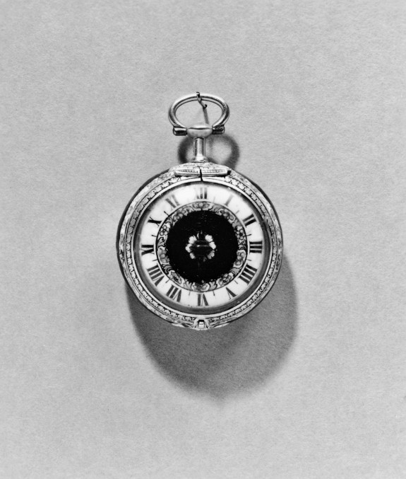 Enamel Watch with Allegories of Peace and Victory