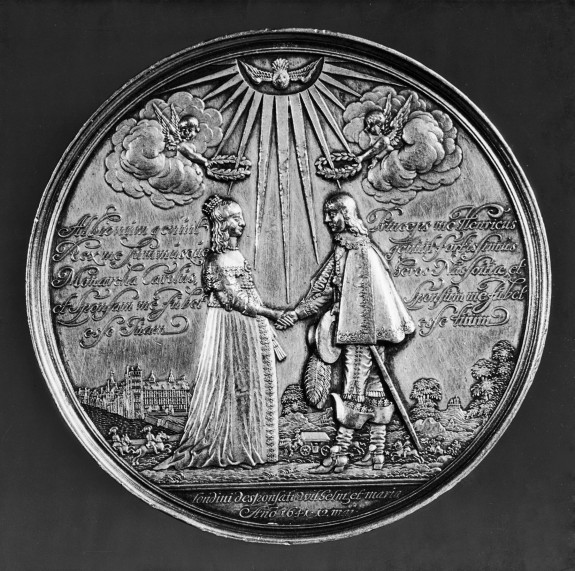 Marriage Medal of Willem of Orange and Mary of England