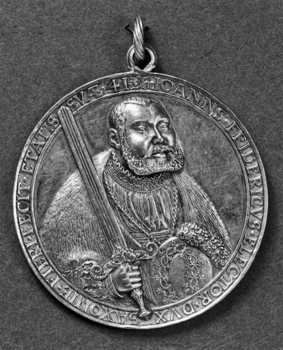 Medal of Johann Friedrich, Duke of Saxony