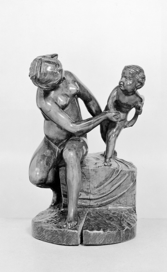 Venus Playing with Her Son Cupid
