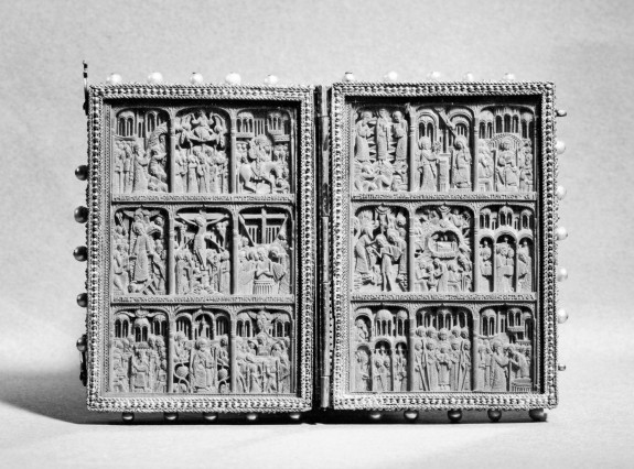 Diptych Icon with Feasts of the Church