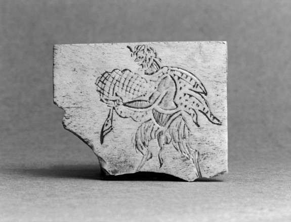 Plaque with Satyr