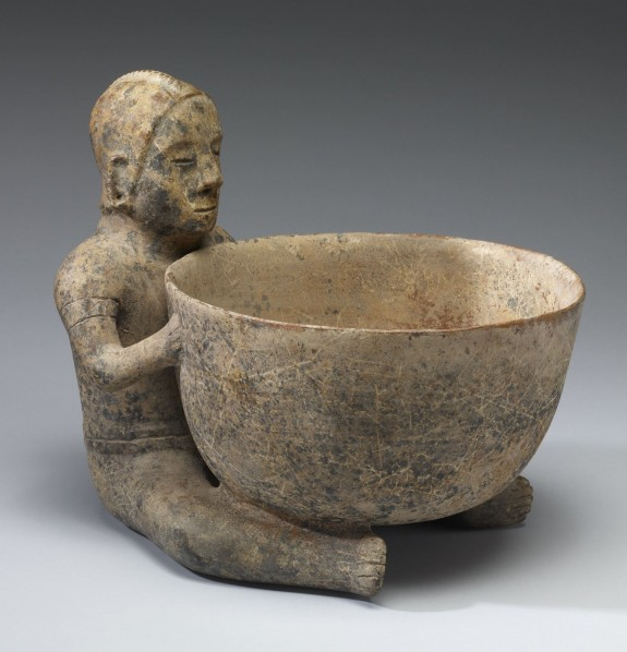 Figure with Large Bowl