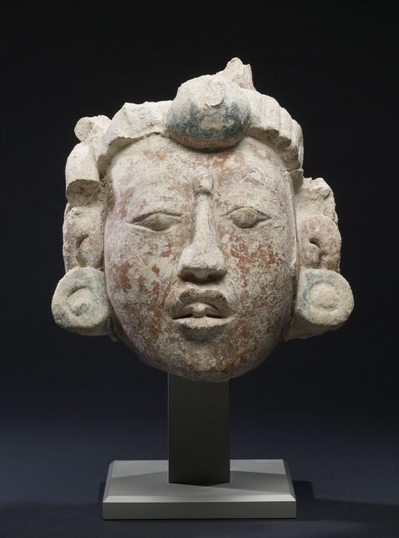 Stucco Portrait Head