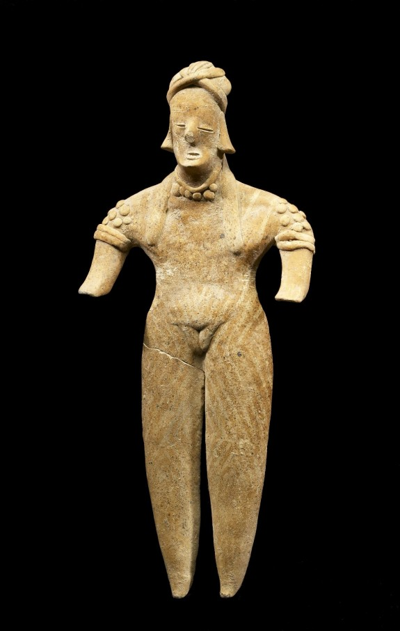 One of Four Figures, Standing Female