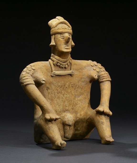 One of Four Figures, Seated Male
