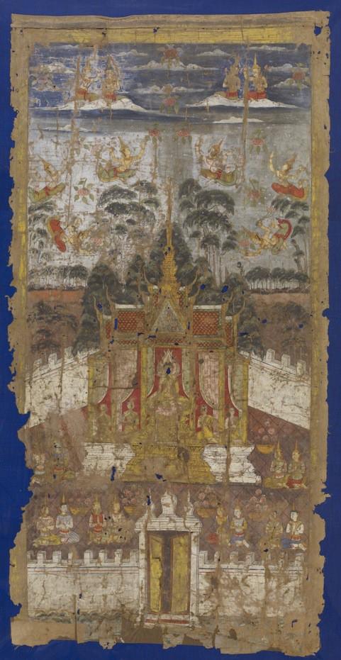 Buddha Seated in the Jeweled House