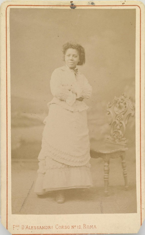 Portrait of Edmonia Lewis (1844-1907)