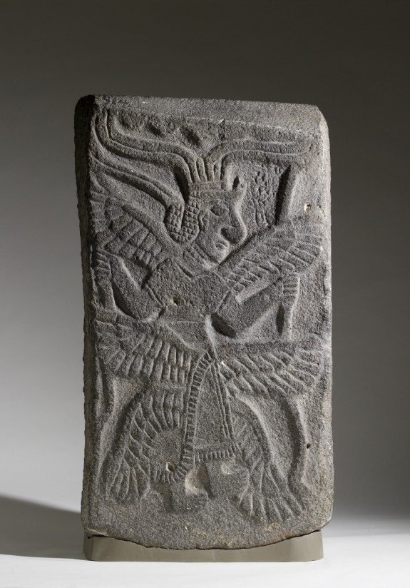 Relief with Six-Winged Goddess