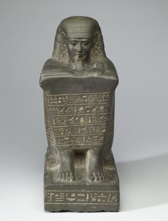 Block Statue of Nes-Ba-Neb-Dedet
