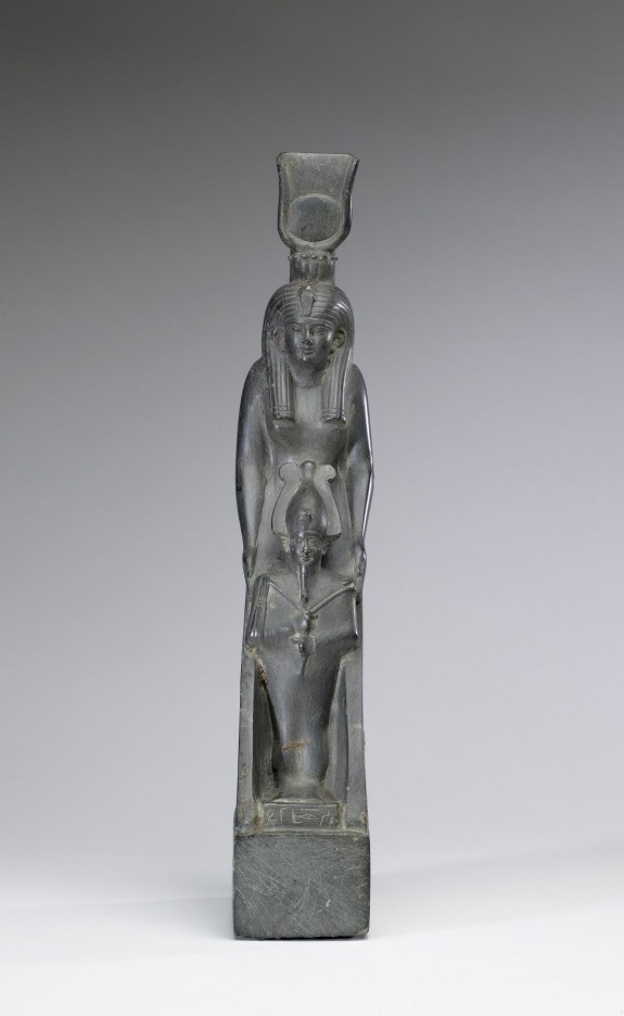 Statue of Isis Protecting Osiris
