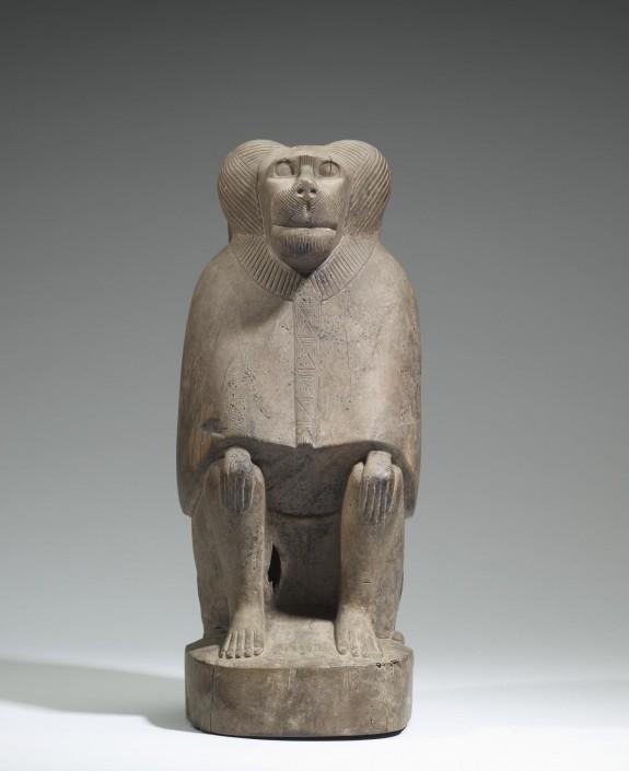 Baboon Mummy Coffin
