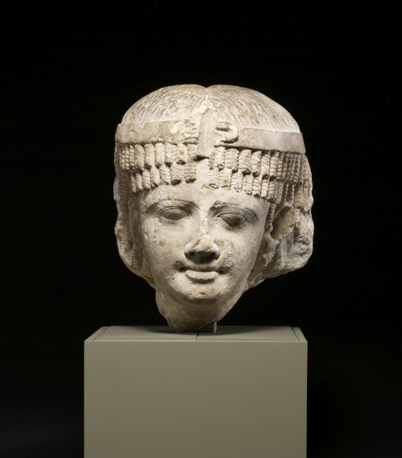 Head of a Queen, Perhaps Cleopatra II or Cleopatra III