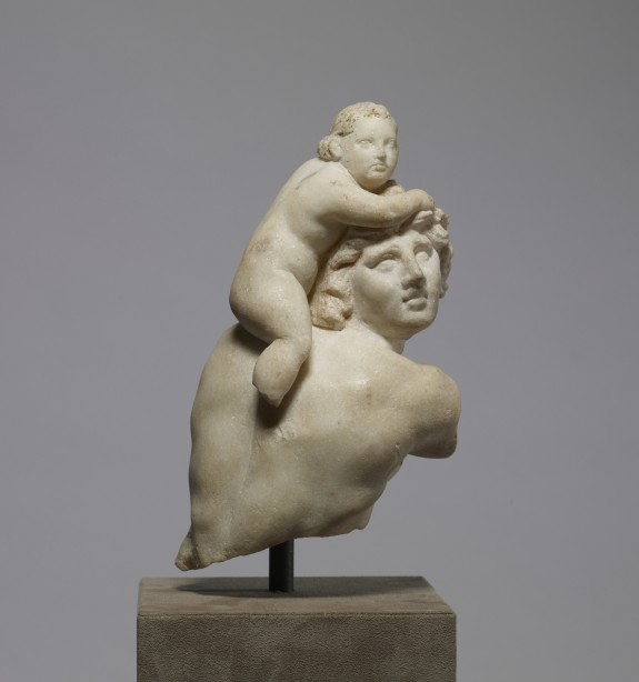 Satyr with Child Dionysus