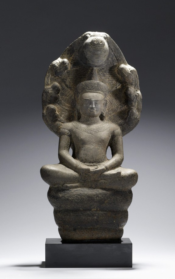 Crowned Naga-Protected Buddha