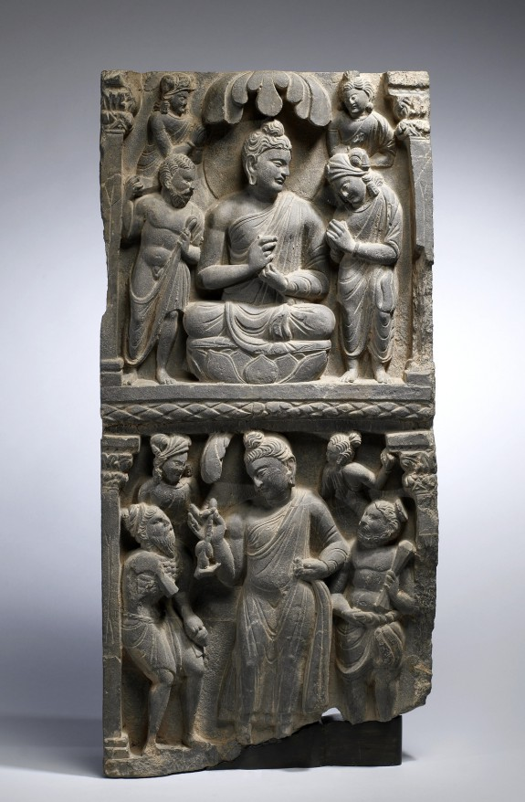 Narrative Panels with Scenes from the Buddha's Life
