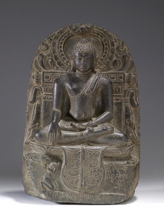Buddha Shakyamuni with Devotee