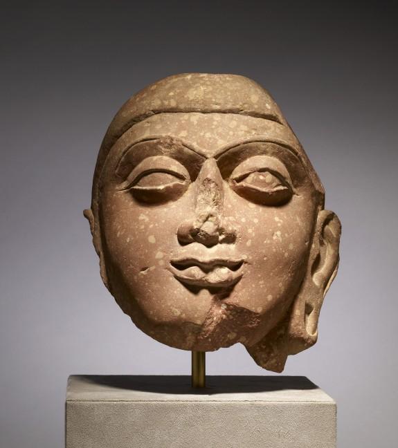 Head of Buddha or Jina