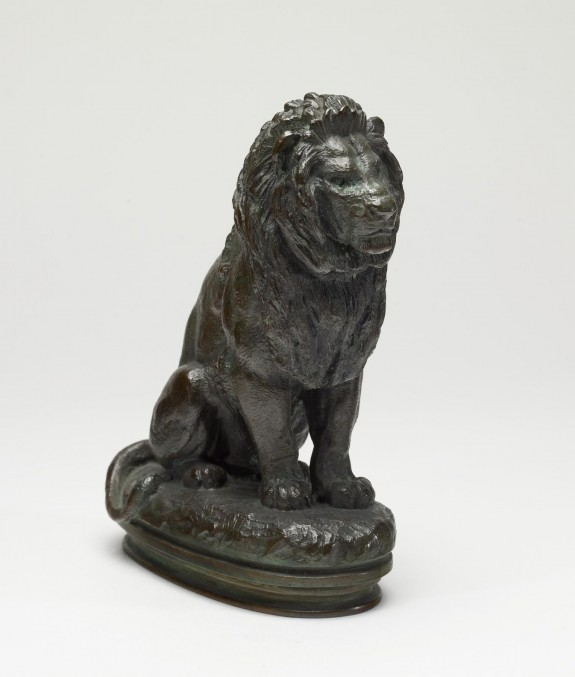 Seated Lion, Number 2