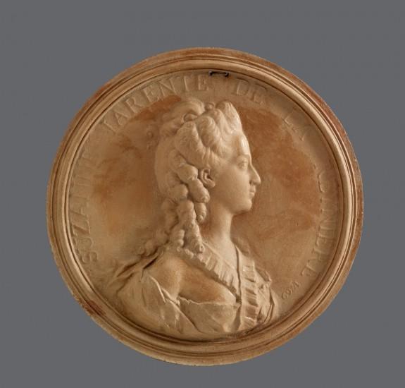 Portrait Medallion of Suzanne de la Reynière