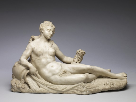 Reclining River Nymph, Arethusa
