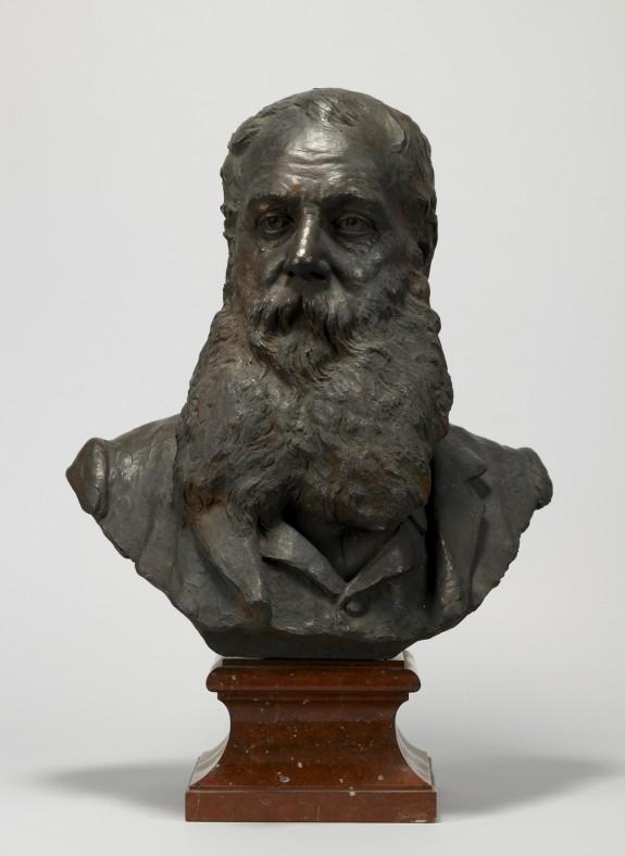 Portrait Bust of George A. Lucas