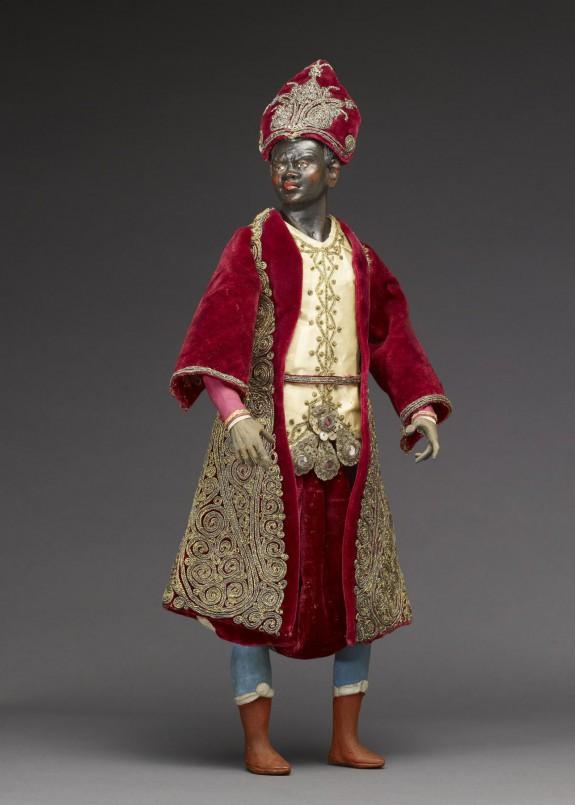 Presepio Figure of the Black Magus
