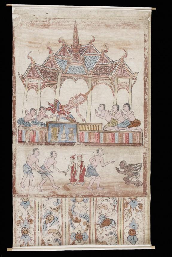 Vessantara Jataka, Chapter 11: Jujaka and the Royal Children are Brought to King Sanjaya