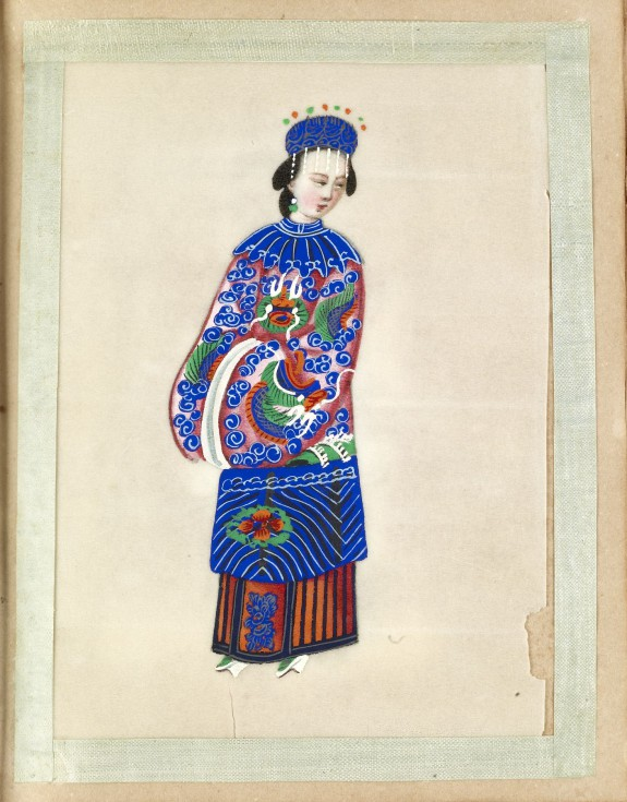 Leaf from Album of Costumes