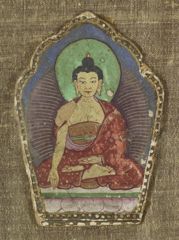 The Buddha Ratnasambhava