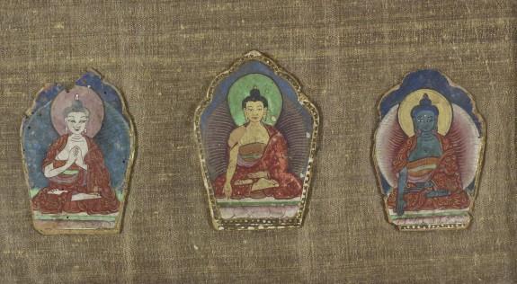 Three Cosmic Buddhas