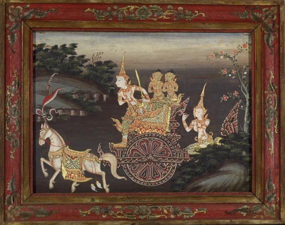 Vessantara Jataka, Chapter 3: Vessantara Gives Away the Chariot