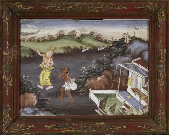 Vessantara Jataka, Chapter 7: Jujaka and the Hermit Accala