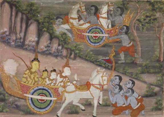Vessantara Jataka, Chapter 3