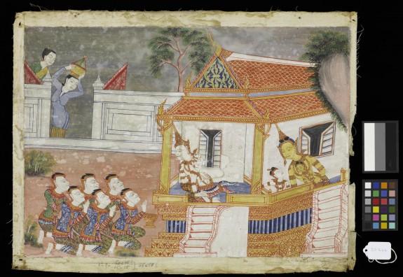 Vessantara Jataka, Chapter 4 (The Forest Edge)