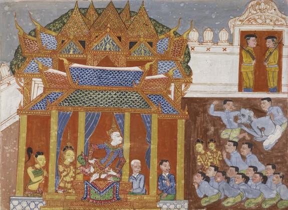 Vessantara Jataka, Chapter 11 (Maharaja)
