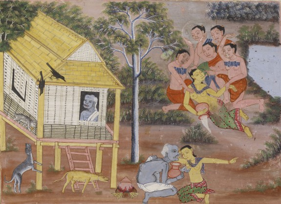Vessantara Jataka, Chapter 5 (Jujaka)