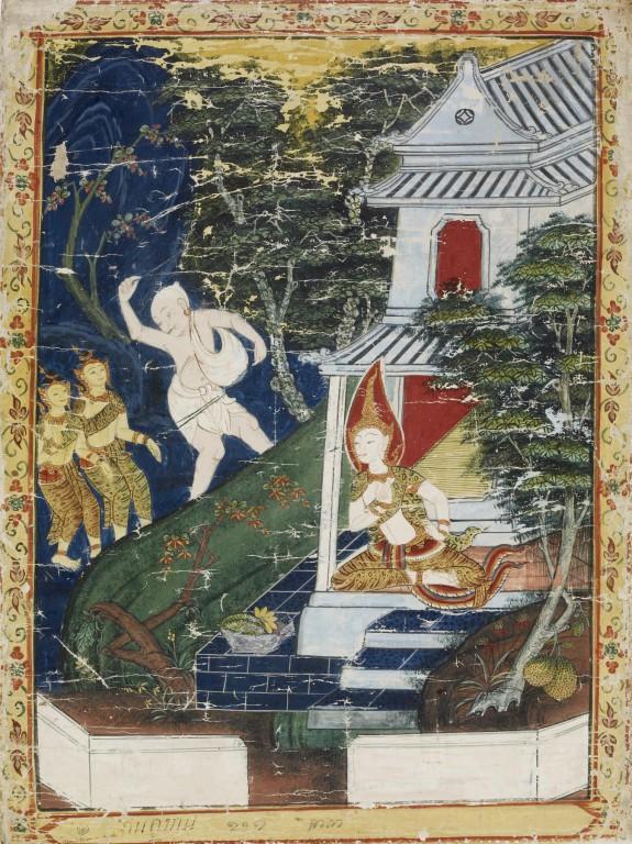 Vessantara Jataka, Chapter 8 (The Royal Children)