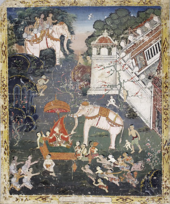 Vessantara Jataka, Chapter 2 (Himavanta Forest)