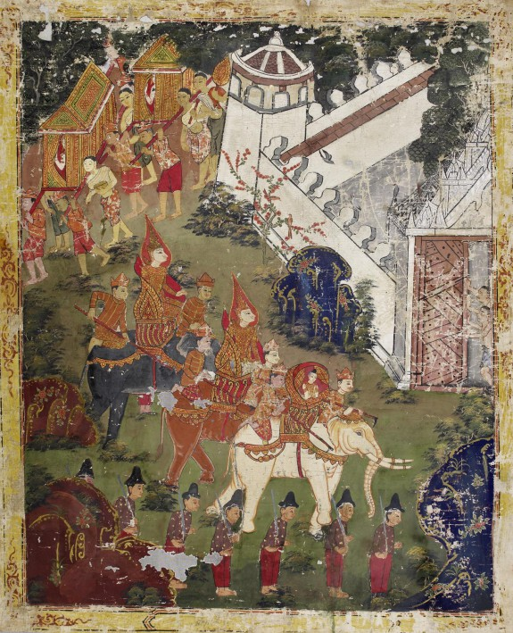 Vessantara Jataka, Chapter 13 (The Return to the Captial)