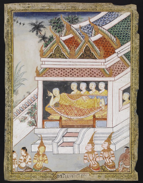 The Buddha Attains Parinirvana