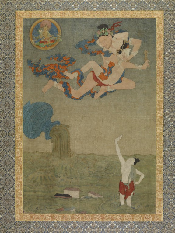 Mahasiddha Ghantapa and the Great Flood