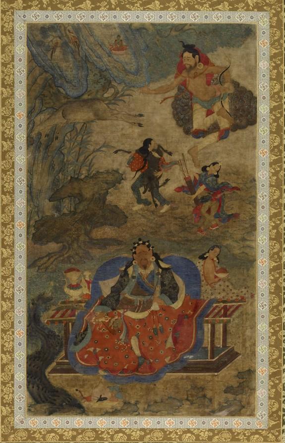Mahasiddhas Shavaripa and Dharikapa