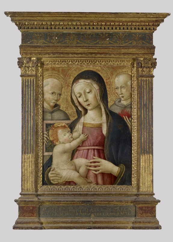 Madonna and Child with Saints Bernardino and Anthony of Padua