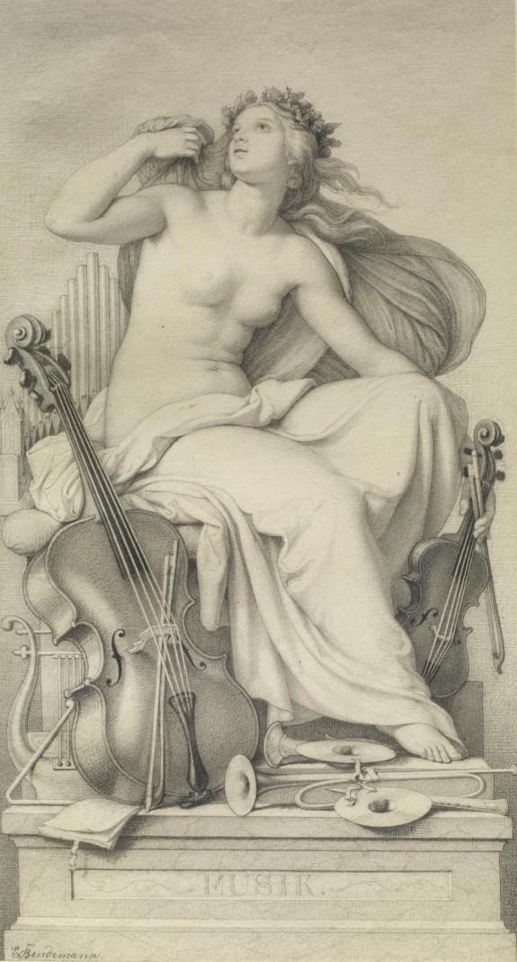 Allegorical Figure of Music