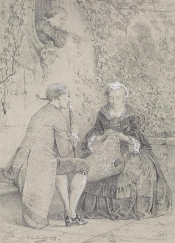 Scene in the 18th Century
