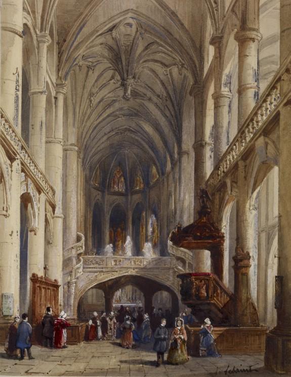 Interior, St. Etienne du Mont, Paris