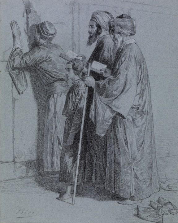 Four Jews at the Wailing Wall